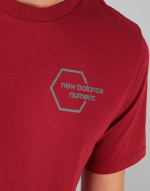 New Balance Numeric New Hex T-Shirt - Scarlet