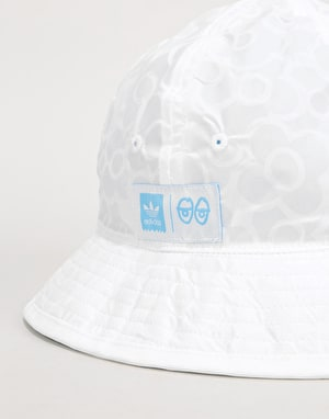 Adidas x Krooked Reversible Hat - White/Blue