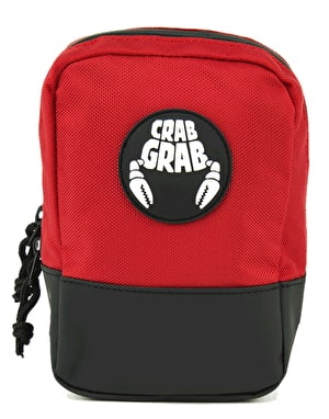 Crab Grab Binding Bag - Black/Red