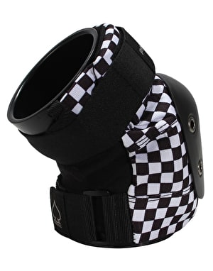 Pro-Tec Street Junior Knee Pads - Black/White Checker
