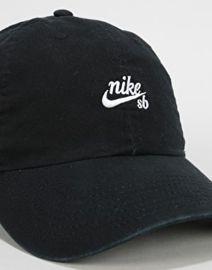 Nike SB True Vintage Cap - Black/White