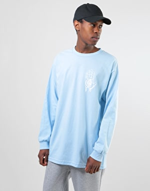Theories Rasputin L/S T-Shirt - Light Blue