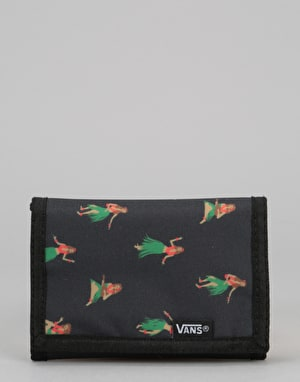 Vans Slipped Wallet - Black Hula Daze