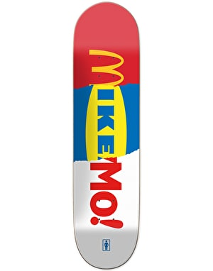 Girl Mike Mo Branded Pro Deck - 8.125