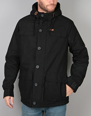 Globe Goodstock Thermal Parka Jacket - Black