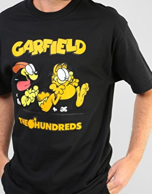 The Hundreds x Garfield Chase T-Shirt - Black