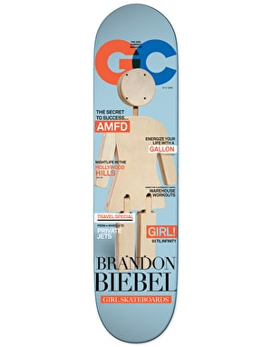 Girl Biebel Newsstand Pro Deck - 8
