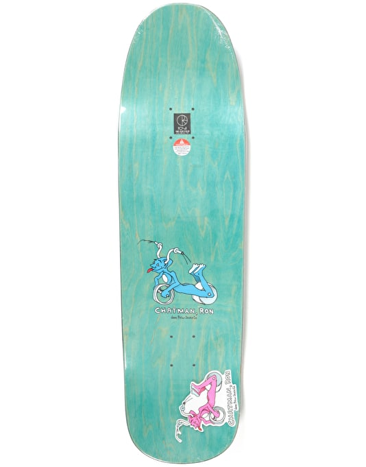 Polar x Dear x Ron Chatman Guest Pro Deck - 1991 Shape 9.25""