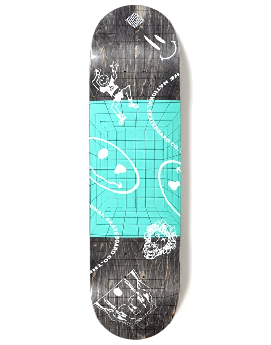 The National Skateboard Co. Dream Skateboard Deck - 8.375""