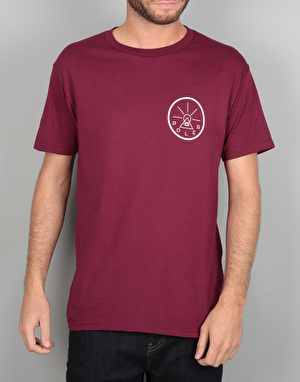 Poler Golden Circle T-Shirt - Grape