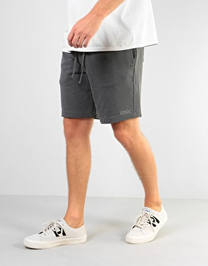 RIPNDIP Peek A Nerm Over Dye Sweatshorts - Black