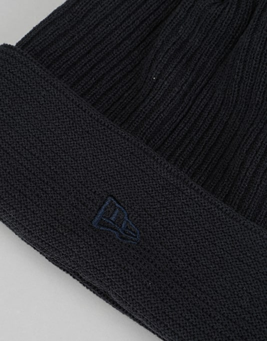New Era Reverse Knit Cuff Beanie - Navy