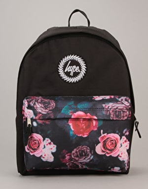 Hype In Bloom Backpack - Black/Multi