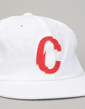 Chrystie x CSC Strapback Cap - White/Red