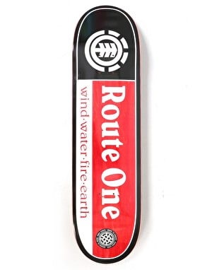 Element x Route One Section SMU Exclusive Skateboard Deck - 8.25