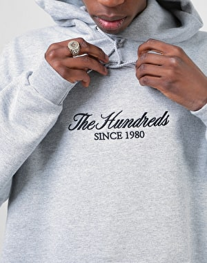 The Hundreds x Champion Rich 80 Pullover Hoodie - Oxford Grey