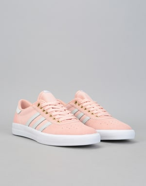 online store ee498 0e09f ... Adidas Lucas Premiere Skate Shoes - Vapour Pink Grey One White