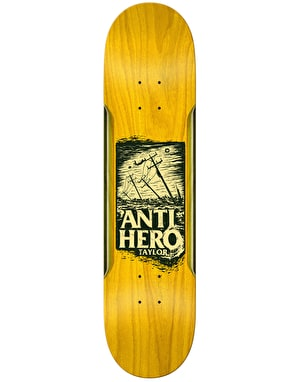 Anti Hero Taylor Hurricane Pro Deck - 8.4