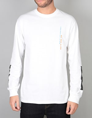 The Quiet Life No Sad Club L/S T-Shirt - White