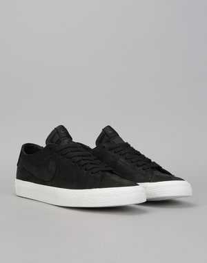 Nike SB Zoom Blazer Low Decon Skate Shoes - Black/Black-Anthracite