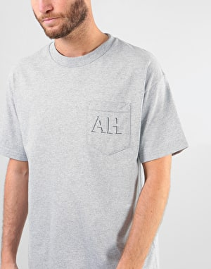 Anti Hero Drophero T-Shirt - Athletic Heather/Grey