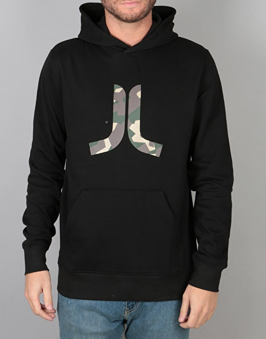 WeSC Inlay Icon Pullover Hoodie - Black