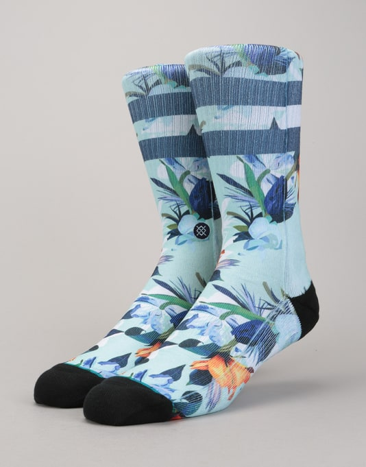 Stance Wipeout Classic Crew Socks - Blue