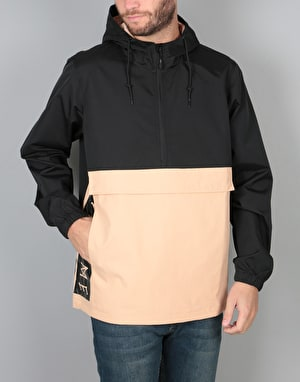 Welcome Team Anorak - Black/Peach