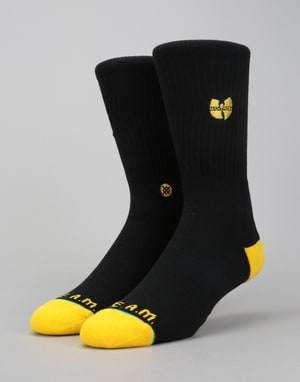 Stance x Wu-Tang Patch Classic Crew Socks - Black