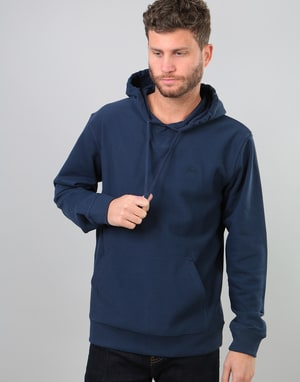 Stüssy Stock Terry Pullover Hoodie - Navy