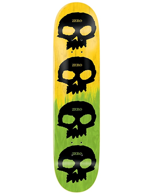 Zero Multi Skull 2-Tone Team Deck - 8.25""