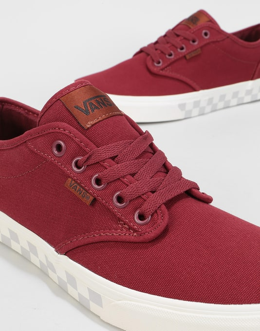 Vans Atwood Skate Shoes - (Check Fox) Port Royale