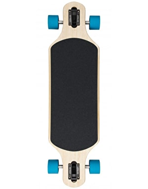 D Street Galea Bamboo Drop Through Longboard - 35