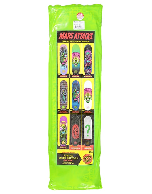Santa Cruz x Mars Attacks Blind Bag Deck - 8.25""