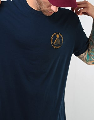 Theories Chaos T-Shirt - Midnight Navy