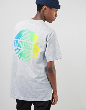 Butter Goods Gradient Worldwide T-Shirt - Heather