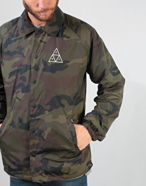HUF Triple Triangle Coaches Jacket - Camo