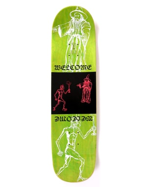 Welcome Bactocat on Big Bunyip Skateboard Deck - 8.5
