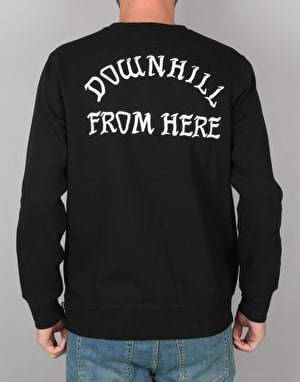HUF Exodus Crewneck Fleece - Black