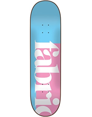 Fabric 1734 Skateboard Deck - 8.25