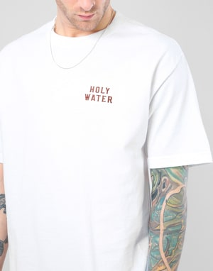 Chocolate Holy Water T-Shirt - White