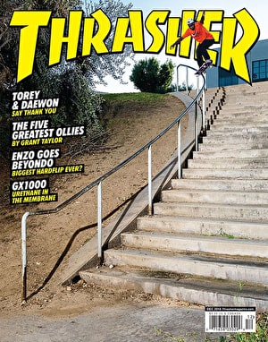 Thrasher Magazine Issue 461 December 2018