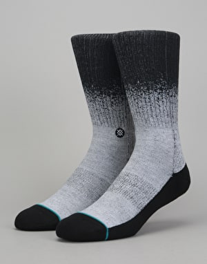 Stance Dissolve Classic Crew Socks - Grey Heather