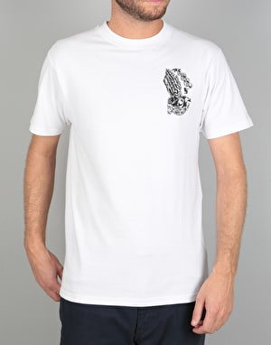 Santa Cruz Bone Guadalupe T-Shirt - White