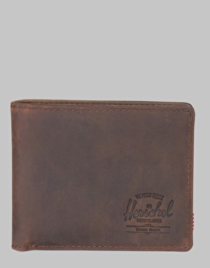 Herschel Supply Co. Hank Leather  RFID Wallet - Nubuck Leather