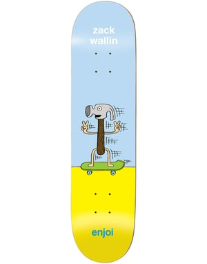 Enjoi Wallin Dingleballdom Skateboard Deck - 8