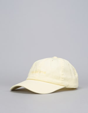 Route One Embroidered Logo Dad Cap - Pastel Lemon