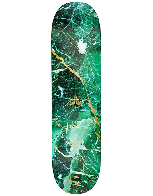 Primitive Peacock Marble Skateboard Deck - 8""
