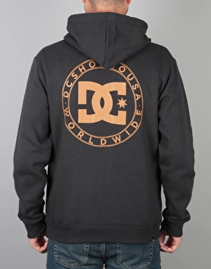 DC Wheel of Steel Zip Hoodie - Black