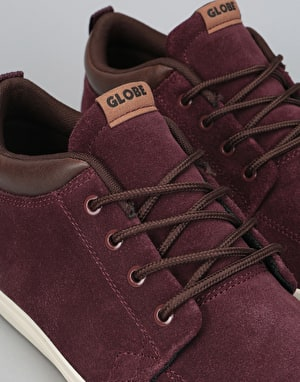 Globe GS Chukka Skate Shoes - Rum Raisin/Choc